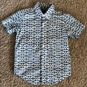 GAP Kids Boys Short-sleeve Button down Shirt